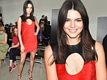 Mandatory Credit: Photo by Steve Eichner/WWD/REX Shutterstock (5087724d)\n Kendall Jenner in the front row\n Calvin Klein show, Spring Summer 2016, New York Fashion Week, America - 17 Sep 2015\n \n