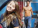 Hollywood, CA - Derek Hough seen in a rush, without his shirt, as she leaves the dance studio on Wednesday. He has to get out again in the alley to have a moving truck move out of his abs way.\nAKM-GSI          September  16, 2015\nTo License These Photos, Please Contact :\nSteve Ginsburg\n(310) 505-8447\n(323) 423-9397\nsteve@akmgsi.com\nsales@akmgsi.com\nor\nMaria Buda\n(917) 242-1505\nmbuda@akmgsi.com\nginsburgspalyinc@gmail.com