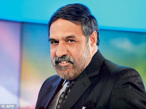 Minister for Commerce and Industry Anand Sharma