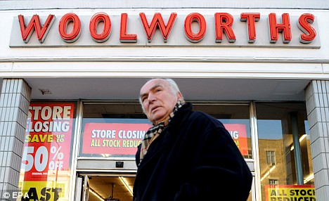 Money to be made: Former rivals to Woolworths are cashing in on its closure