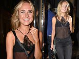 Picture Shows: Kimberley Garner  September 16, 2015    Celebrities spotted at the launch of makeup artist Gary Cockerill's new book 'Simply Glamorous' at the Alon Zakaim Fine Art gallery in London, England.    Non Exclusive  WORLDWIDE RIGHTS    Pictures by : FameFlynet UK © 2015  Tel : +44 (0)20 3551 5049  Email : info@fameflynet.uk.com