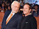 Mandatory Credit: Photo by Stephen Lovekin/REX Shutterstock (5088148e)  Donald Sutherland and Kiefer Sutherland  'Forsaken' film premiere, Toronto International Film Festival, Canada - 16 Sep 2015
