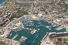 Cabo San Lucas Marina, Los Cabos, Mexico - September 2012