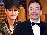 """NEW YORK, NY - SEPTEMBER 02:  Justin Bieber Visits """"The Tonight Show Starring Jimmy Fallon"""" at Rockefeller Center on September 2, 2015 in New York City.  (Photo by Theo Wargo/NBC/Getty Images for """"The Tonight Show Starring Jimmy Fallon"""")"""