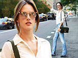 Mandatory Credit: Photo by Startraks Photo/REX Shutterstock (5093303i)\n Alessandra Ambrosio\n Alessandra Ambrosio out and about, New York, America - 16 Sep 2015\n Alessandra Ambrosio spotted in Nyc wearing Coccinelle Arlettis Bag\n
