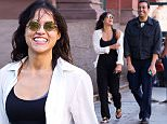Michelle Rodriguez is seen sharing a laugh with a male friend in Soho, NYC.\n\nPictured: Michelle Rodriguez\nRef: SPL1129924  180915  \nPicture by: TMNY / Splash News\n\nSplash News and Pictures\nLos Angeles: 310-821-2666\nNew York: 212-619-2666\nLondon: 870-934-2666\nphotodesk@splashnews.com\n