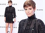 Mandatory Credit: Photo by Tommy Iannaccone/WWD/REX Shutterstock (5087772bn)\n Kate Mara\n Marc Jacobs show, Spring Summer 2016, New York Fashion Week, America - 17 Sep 2015\n \n