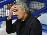 """Football - Everton v Chelsea - Barclays Premier League - Goodison Park - 12/9/15  Chelsea manager Jose Mourinho  Action Images via Reuters / Ed Sykes  Livepic  EDITORIAL USE ONLY. No use with unauthorized audio, video, data, fixture lists, club/league logos or """"live"""" services. Online in-match use limited to 45 images, no video emulation. No use in betting, games or single club/league/player publications.  Please contact your account representative for further details."""