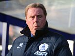 """Football manager Harry Redknapp.   PRESS ASSOCIATION Photo. Issue date: Thursday June 11, 2015. Harry Redknapp has declared Tottenham a """"major disappointment"""" since he was sacked as manager three years ago. See PA story SOCCER Tottenham. Photo credit should read Adam Davy/PA Wire.  File photo dated 17-01-2015"""