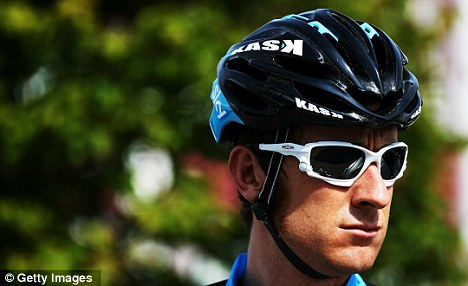 Humiliating: Bradley Wiggins hopes to bounce back from last year's Tour disappointment