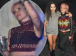 LONDON, ENGLAND - SEPTEMBER 18:  Eliza Doolittle (L) and Lily Allen attend an after party celebrating the opening of the Alexander Wang store in Mayfair at The Electric Carousel on September 18, 2015 in London, England.  (Photo by David M. Benett/Dave Benett/Getty Images for Alexander Wang)