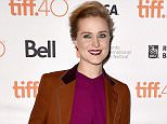 """TORONTO, ON - SEPTEMBER 12: Actress Evan Rachel Wood attends the """"Into the Forest"""" premiere during the 2015 Toronto International Film Festival at The Elgin on September 12, 2015 in Toronto, Canada.  (Photo by Kevin Winter/Getty Images)"""