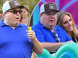 EXCLUSIVE: Eric Stonestreet stays close to a mystery woman while out on a day at Disneyland  . Eric and the woman were seen riding many of the park's rides close to each other including Alice in Wonderland, the Storybook Canals and Casey Jr. \nEric was also seen being silly while in the park, taking photographs with his phone of a Churro, and enjoying a pickle, a staple treat at the park. \n\nPictured: Eric Stonestreet\nRef: SPL1126681  160915   EXCLUSIVE\nPicture by: Fern / Splash News\n\nSplash News and Pictures\nLos Angeles: 310-821-2666\nNew York: 212-619-2666\nLondon: 870-934-2666\nphotodesk@splashnews.com\n