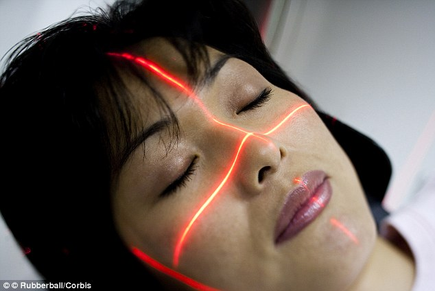 Using different types of light exposure it takes digital and UV pictures of your face to examine age spots, UV spots, brown spots, red areas, wrinkles, skin texture as well as pores and acne-causing bacteria