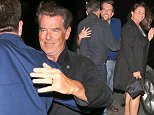 Santa Monica, CA -Pierce Brosnan and Keely Shaye Smith seen leaving Giorgio Baldi restaurant after Dinner. CREDIT MUST READ:  Maciel/AKM-GSI AKM-GSI       September 17, 2015 To License These Photos, Please Contact : Steve Ginsburg (310) 505-8447 (323) 423-9397 steve@akmgsi.com or Maria Buda (917) 242-1505 mbuda@akmgsi.com