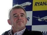 Ryanair's CEO Michael O'Leary as Ryanair's 30% stake in Aer Lingus damages competition on routes between Britain and Ireland and must be cut to 5%, a regulator has ordered. PRESS ASSOCIATION Photo. Issue date: Wednesday August 28, 2013. The Competition Commission said the shareholding, which Ryanair has held for seven years, weakens its main competitor and could prevent Aer Lingus from combining with another airline in order to build scale. See PA story CITY Ryanair. Photo credit should read: Steve Parsons/PA Wire