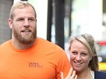 Mandatory Credit: Photo by Beretta/Sims/REX Shutterstock (5026580k).. Chloe Madeley and James Haskell.. Chloe Madeley and James Haskell out and about, London, Britain  - 02 Sep 2015.. ..