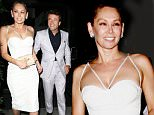 Robert Herjavec & Girlfriend Kym Johnson dine out at Mr.Chow ,in Beverly Hills, CA\n\nPictured: Robert Herjavec,Kym Johnson\nRef: SPL1130395  170915  \nPicture by: Roshan Perera\n\nSplash News and Pictures\nLos Angeles: 310-821-2666\nNew York: 212-619-2666\nLondon: 870-934-2666\nphotodesk@splashnews.com\n