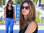 Supermodel Cindy Crawford gassed up her Bentley luxury cruiser at a station in Malibu, wearing a black tank-top with jeans and sandals, on Friday, September 18, 2015 X17online.com\\nOK FOR WEB SITE USAGE AT 20PP\\nMAGAZINES NORMAL FEES\\nAny queries call X17 UK Office 0034 966 713 949\\nGary 0034 686421720\\nLynne 0034 611100011 \\nAlasdair 0034 965998830