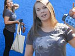 Hollywood, CA - Bindi Irwin and her mom Terri Irwin are all smiles as they chat with security before heading to the dance studio in Hollywood.  Bindi sports a Koala t-shirt for today's workout.\n AKM-GSI September 18, 2015\n \n To License These Photos, Please Contact :\n \n Steve Ginsburg\n (310) 505-8447\n (323) 423-9397\n steve@akmgsi.com\n sales@akmgsi.com\n \n or\n \n Maria Buda\n (917) 242-1505\n mbuda@akmgsi.com\n ginsburgspalyinc@gmail.com