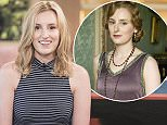EDITORIAL USE ONLY. NO MERCHANDISING  Mandatory Credit: Photo by Ken McKay/ITV/REX Shutterstock (5090423ac)  Laura Carmichael  'This Morning' TV Programme, London, Britain - 17 Sep 2015   DOWNTON?S LAURA CARMICHAEL -   Tissues at the ready people- things are about to get emotional in the studio. For those of you who've been living on a desert island, we've got some pretty shocking news- Downton Abbey's coming to an end! The good news is, there's still one series left and Lady Edith- actress Laura Carmichael- is here to tell us what?s in store for the Crawley household.