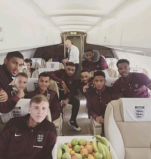 Jordon Ibe, Joe Gomez and Co flying high as England U21s jet off to Norway ahead of
