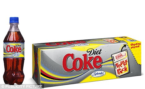 All-around rise: Products like Diet Coke which contains Splenda, The Zero Calorie Sweetner, are up among adults too