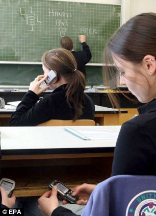 Negative effect: Why were mobile phones ever allowed into schools in the first place?
