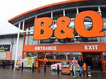 A general view of the B&Q store in Ballymena, County Antrim.   The home improvement chain is to close as many as 60 stores over the next two years as part of a restructuring of its UK and Ireland business.   PRESS ASSOCIATION Photo. Issue date: Tuesday March 31, 2015. See PA story CITY Kingfisher. Photo credit should read: Paul Faith/PA Wire.  File photo dated 19/3/2013 of