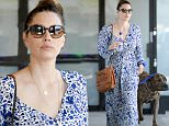 EXCLUSIVE: Jessica Biel takes her dog Tina to a veterinarian's office in LA\n\nPictured: Jessica Biel\nRef: SPL1124989  170915   EXCLUSIVE\nPicture by: Splash News\n\nSplash News and Pictures\nLos Angeles: 310-821-2666\nNew York: 212-619-2666\nLondon: 870-934-2666\nphotodesk@splashnews.com\n