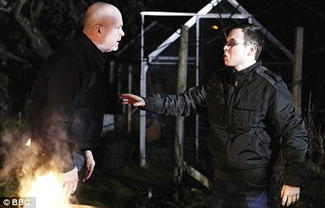 In EastEnders, Ben continues to threaten to reveal Jay's bloodstained hoodie
