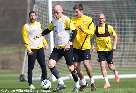 In training: McLeish will add to his squad over the summer