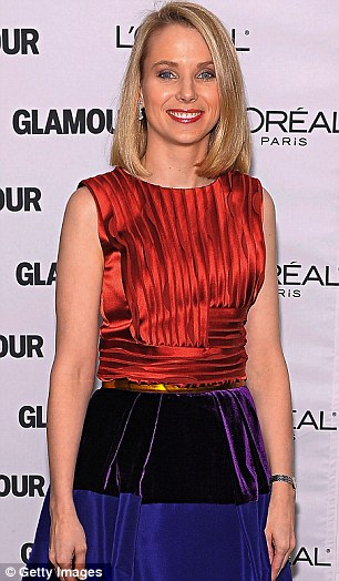 Marissa Mayer at the Glamour Magazine Women of The Year Awards