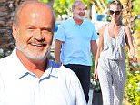 Kelsey Grammer stepped out to lunch with the wife, in Beverly Hills.  The actor looked happy and helathy, on Thursday, September 17, 2015 X17online.com\n
