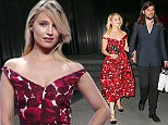 New York, NY - Dianna Agron and Winston Marshall go hand-in-hand as they exit the Marc Jacobs show during New York Fashion Week held at the Ziegfeld Theater in New York. AKM-GSI    September 17, 2015 To License These Photos, Please Contact : Steve Ginsburg (310) 505-8447 (323) 423-9397 steve@akmgsi.com sales@akmgsi.com or Maria Buda (917) 242-1505 mbuda@akmgsi.com ginsburgspalyinc@gmail.com