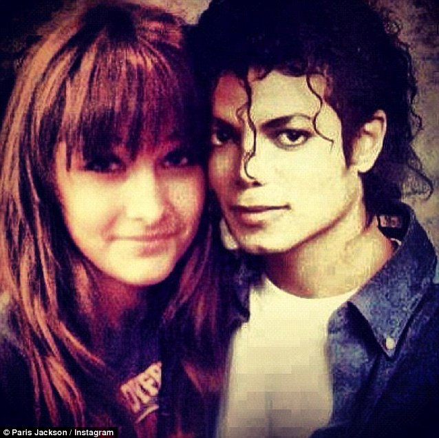I love you daddy! Paris shared this treasured picture of her and Michael Jackson as she and her siblings celebrated his 54th birthday today