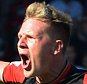 BOURNEMOUTH, ENGLAND - SEPTEMBER 19:  Matt Ritchie of Bournemouth celebrates scoring his team's second goal during the Barclays Premier League match between A.F.C. Bournemouth and Sunderland at Vitality Stadium on September 19, 2015 in Bournemouth, United Kingdom.  (Photo by Tony Marshall/Getty Images)