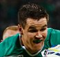 CARDIFF, WALES - SEPTEMBER 19:  Jonathan Sexton of Ireland drives to the line to score his teams third try during the 2015 Rugby World Cup Pool D match between Ireland and Canada at the Millennium Stadium on September 19, 2015 in Cardiff, United Kingdom.  (Photo by Laurence Griffiths/Getty Images)