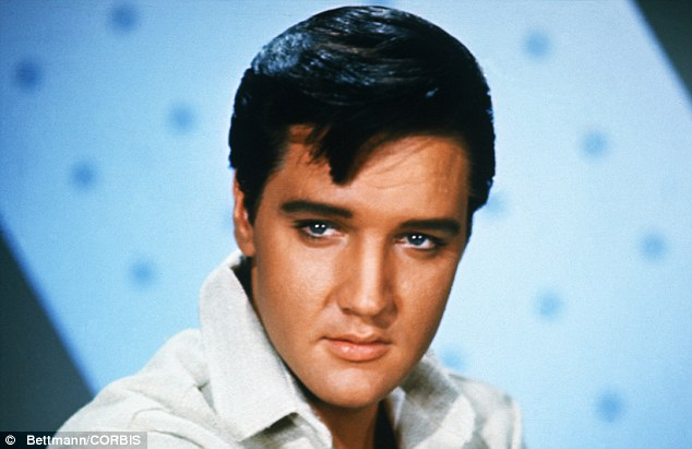 Tragic: Elvis died at the age of 42 in 1977