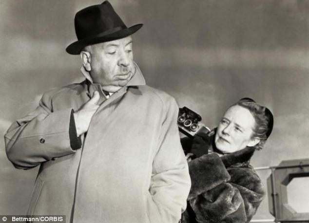 Away from the director's chair: Notably, Hitchcock's wife Alma had reddish hair and did not fit the stereotype of his idealised woman