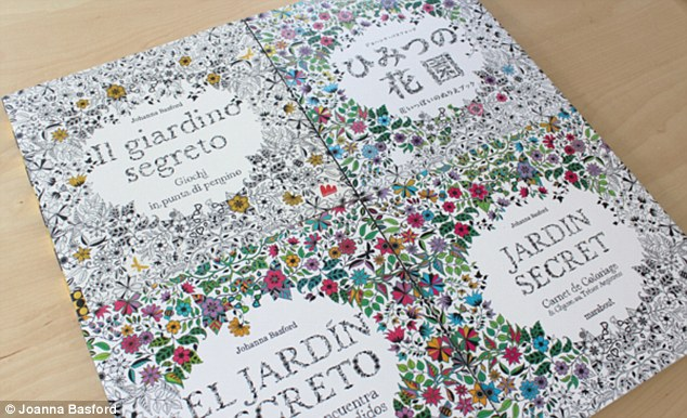 Art and flowers: The book is the most popular in its genre and has now been translated into 22 languages