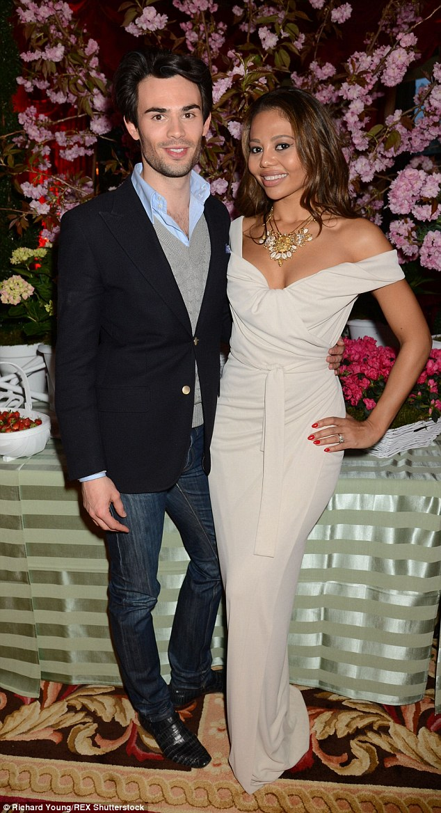 Made In Chelsea star Mark-Francis Vandelli and Viscountess Weymouth were among the posh guests who partied at the Tatler Best of British event in London on Tuesday night