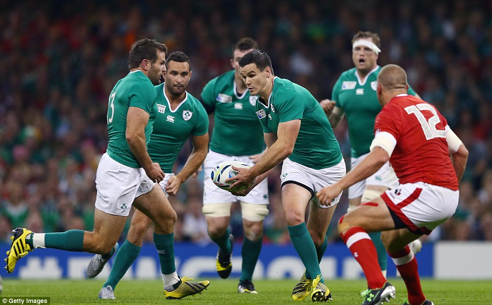 Sexton was the star man for Joe Schmidt's team on Saturday and the 30-year-old once again goes on the attack for his side