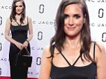 Mandatory Credit: Photo by Gregory Pace/REX Shutterstock (5095436bq)\n Winona Ryder\n Marc Jacobs show, Spring Summer 2016, New York Fashion Week, America - 17 Sep 2015\n \n