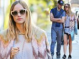 142602, EXCLUSIVE: Suki Waterhouse spotted getting close with Aram Rappaport in Tribeca, NYC. New York, New York - Friday September 18, 2015. Photograph: © PacificCoastNews. Los Angeles Office: +1 310.822.0419 sales@pacificcoastnews.com FEE MUST BE AGREED PRIOR TO USAGE