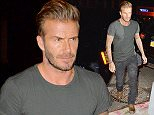 ***MINIMUM FEE TO BE AGREED BEFORE USE*** EXCLUSIVE: David Beckham and Justin Theroux attend the Outlaw movie party in the Lower East Side then headed to another private party at the Tribeca Grand Hotel  Pictured: David Beckham, Justin Theroux Ref: SPL1123462  170915   EXCLUSIVE Picture by: We Dem Boyz / Splash News  Splash News and Pictures Los Angeles:310-821-2666 New York:212-619-2666 London:870-934-2666 photodesk@splashnews.com