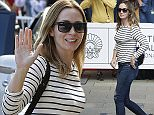 SAN SEBASTIAN, SPAIN - SEPTEMBER 18:  Actress Emily Blunt is seen arriving at the Maria Cristina Hotel during the 63rd San Sebastian International Film Festival on September 18, 2015 in San Sebastian, Spain.  (Photo by Carlos Alvarez/Getty Images)