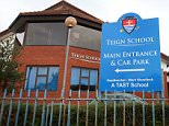 PIC: APEX 16/09/2015 View of Teign School in Kingsteignton, Devon, where nearly 200 people are undergoing treatment after a TB outbreak.  Public Health England (PHE) said the majority of transmission at the school occurred in the 2013/14 school year. Nearly 200 people have been followed up with a positive screening result and many are taking treatment for latent TB infection after the outbreak at the school. PHE said they do not have TB disease and are not infectious, and the treatment will prevent the development of TB disease in the future. PHE said the number of students testing positive is unusual but the pattern of spread is consistent with contact with an infectious person during the 2013/14 school year. ** SEE STORY BY APEX NEWS - 01392 823144 ** ---------------------------------------------------- APEX NEWS AND PICTURES NEWS DESK: 01392 823144 PICTURE DESK: 01392 823145