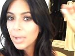 Kim Kardashian snivels her way through a Live stream  Q&A 18/09/2015 says she is suffering from alergies.  will she be going to isreal  with kanye - no she wants to spend time with north befor th new baby arrives. You wear Metalica and guns and rosese t shirts - but do you listen to them? K: not all the time, but back in the day/ i have them on my itunes. i love matalica but in my car i listen to hip hop.  she loves all types of mucic. she loves counrty music which suprises people. she likes to listen to oldies like eklvis as it reminds her of her dad.