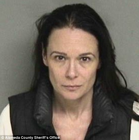 Concern: Amanda Nejat allegedly left her 11-week-old twins in her car in the a mall parking lot in California while she shopped for 40 minutes